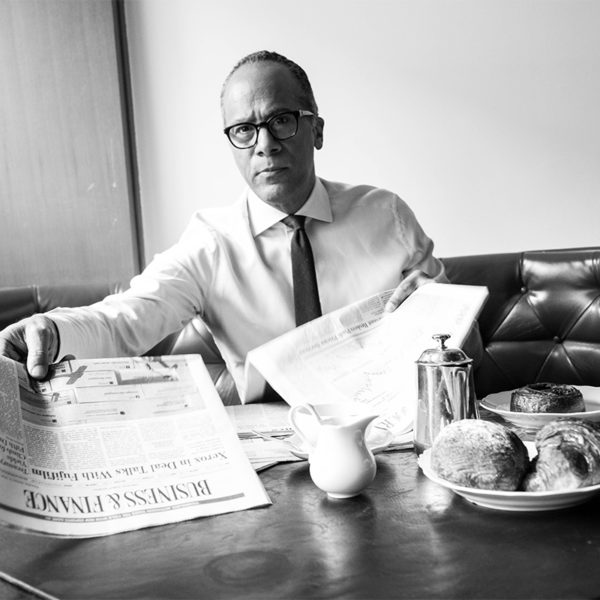 Lester Holt Helps Filter The Noise