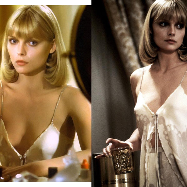 In Wardrobe with Michelle Pfeiffer's Slip Top
