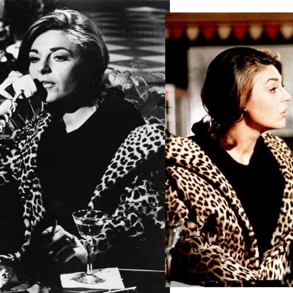 In Wardrobe with Mrs. Robinson's Leopard Coat
