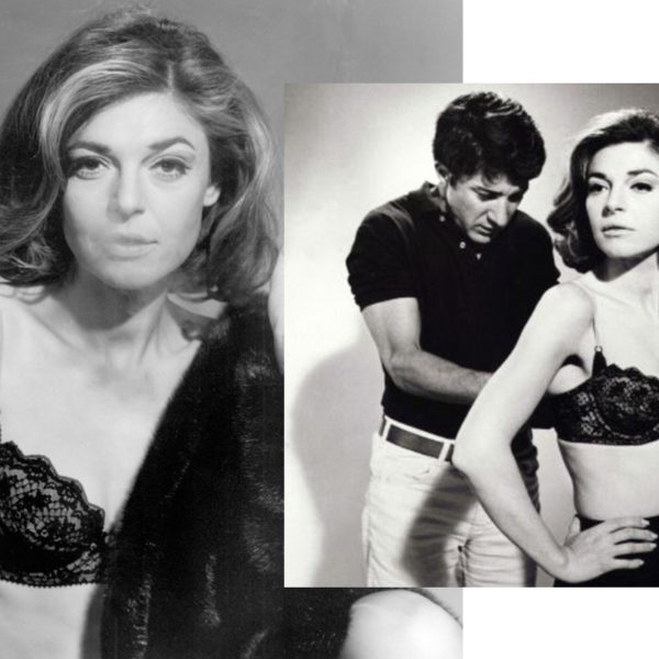 In Wardrobe with Mrs Robinson's Black Bra