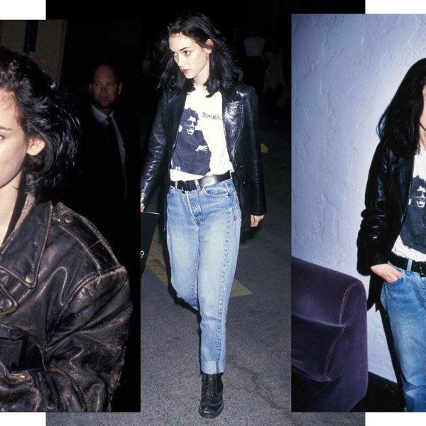 In Wardrobe with Winona Ryder's Leather Jacket