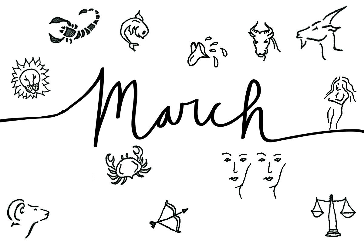 March 12222 Monthly Horoscope For All Zodiac Signs